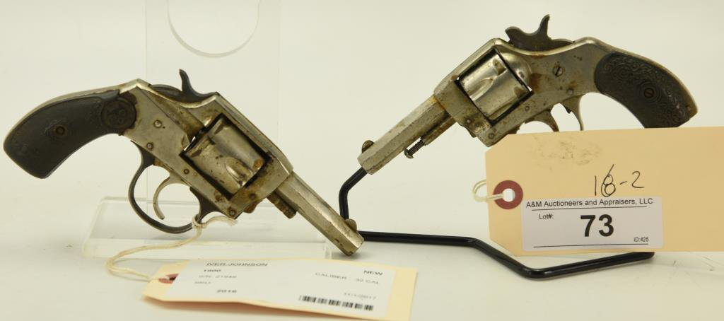 Lot #73 -2 Modern Iver JohnsonRevolvers to Incl: