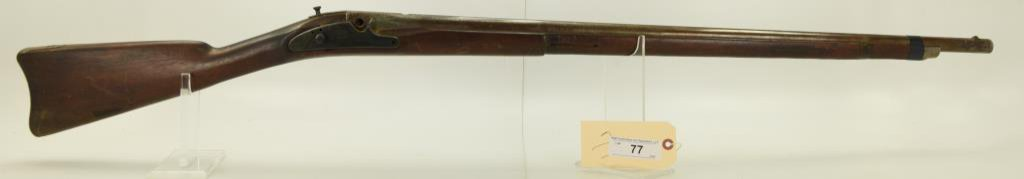 """Lot #77 -US/TrentonMdl Musket Marked  1864.58 CalSN# None~~33.5"""" BBL, Missing  several"""