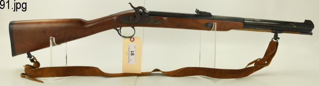 Lot #131 - Thompson Center Mdl White Mountain  B. Powder Rifle .50 Cal SN#  11442~~