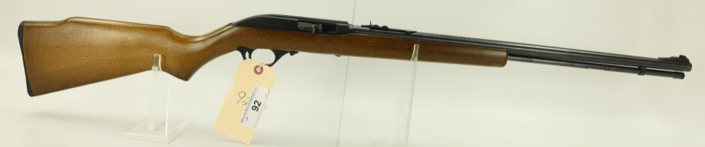 Lot #92 - Marlin Firearms Co. Mdl 60 Semi  Auto Rifle .22 LR SN# 12498716~~ 22 LR cal.,  14 shot