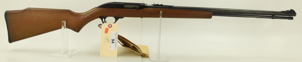 "Lot #94 - Marlin Firearms Co Mdl 60 Semi Auto  Rifle .22 Cal SN# 10466246~~ 22"" BBL. 45""  OAL."