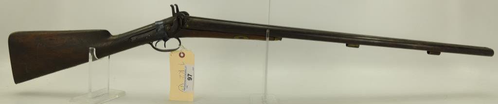 """Lot #97 -Hapgood - Boston Mdl Perc. SxS Dbl  Barrel Shotgun12 Ga.SN# None~~30"""" BBL,  46"""""""
