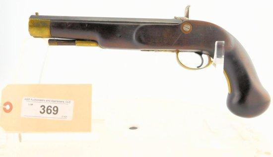 Lot #369 -HazelwoodPerc. Horse Pistol