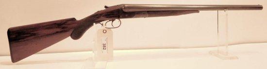 Lot #382 -Colt 1883 SxS Hammerless Shotgun