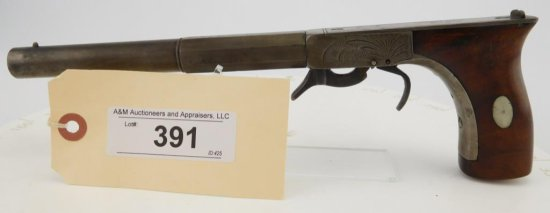 Lot #391 -E. Allen Pocket Rifle (or Bootleg Pist