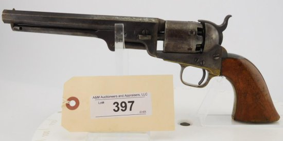 Lot #397 -Colt Navy Mdl 1851 4th  Rev