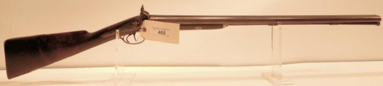 Lot #405 -Lewes & Tomes SxS Percussion Shotgun