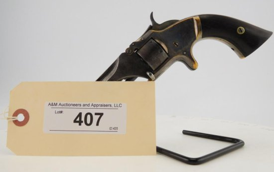 Lot #407 -S&W1, Iss. 2, Tip-Up, 7-Shot Revolver