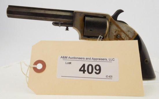 Lot #409 -Merwin & Bray Revolver