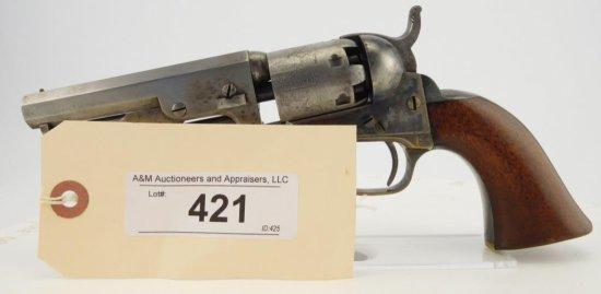 Lot #421 -Colt 1849 Pocket , Type 1 SA Rev