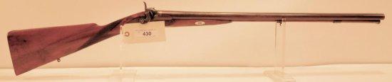 Lot #430 -Mortimer SxS Percussion Shotgun