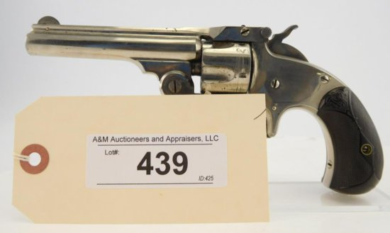 Lot #439 - S&W  1-1/2, SA, Top Break Revolver