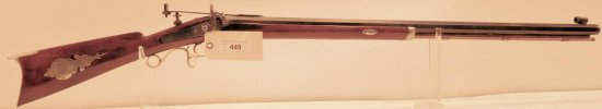 Lot #449 -Unk Maker Percussion Rifle