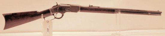 Lot #451 -Winchester1873 3rd Mdl LA Rifle