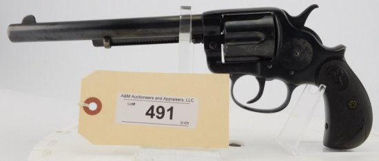Lot #491 -ColtDA Frontier Six Shooter Revolver