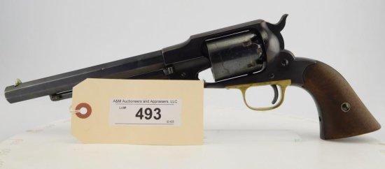 "Lot #493 -Remington ""Old "" Army Revolver"