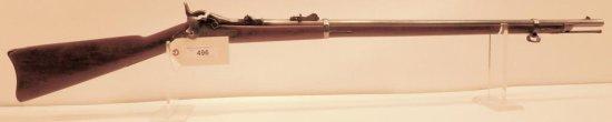 Lot #496 -US Springfield 1873 Trap Door Rifle