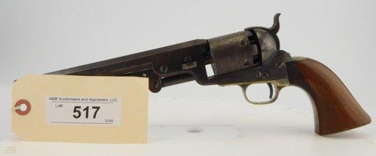 Lot #517 -Colt 1851 Navy, 3rd  SA Revolver
