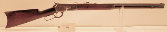 Lot #524 -Winchester 1886 Lever Action Rifle