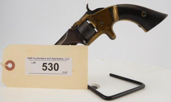 Lot #530 -S&W1, 2nd Issue Spur Trigger Rev.