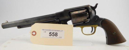 "Lot #558 -Remington ""New Mdl"" Army  Rev."