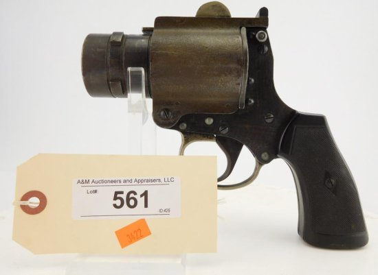 Lot #561 - Webely  No 4 Mark 1 Flare Gun