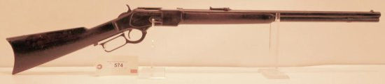 Lot #574 -Winchester 1873 Lever action Rifle