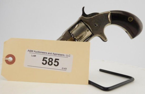 Lot #585 -Wes. & Harr.Pocket Spur Trigger Rev