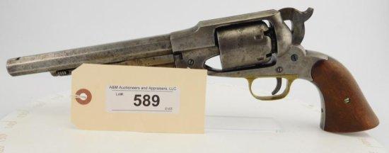 Lot #589 -Remington-Beals1858 Army Rev.