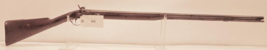 Lot #608 - Unknown Maker  Percussion Rifle
