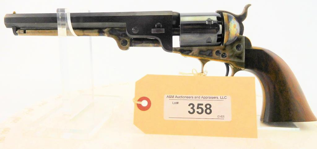 Lot #358 -Navy Arms Colt Repro of 1851 Navy