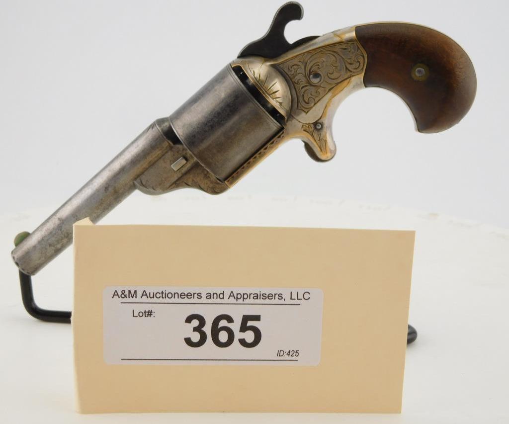 Lot #365 -MooreTeat Fire Revolver
