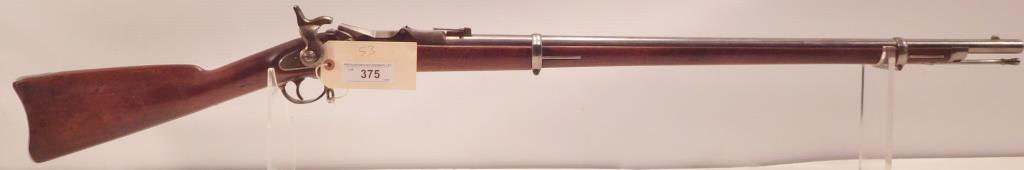 Lot #375 -US Springfield1868 Trapdoor Rifle