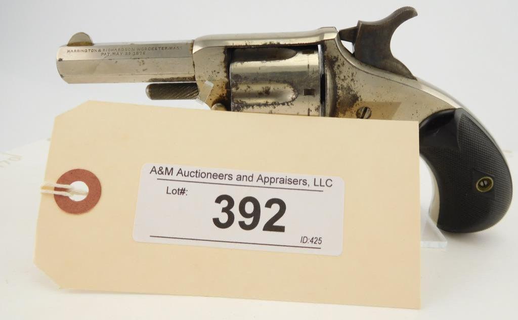 Lot #392 -H&R 1-1/2, Spur Trigger Revolver
