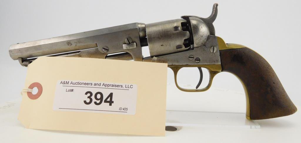 Lot #394 - Colt  1849 Pocket, 1st Type