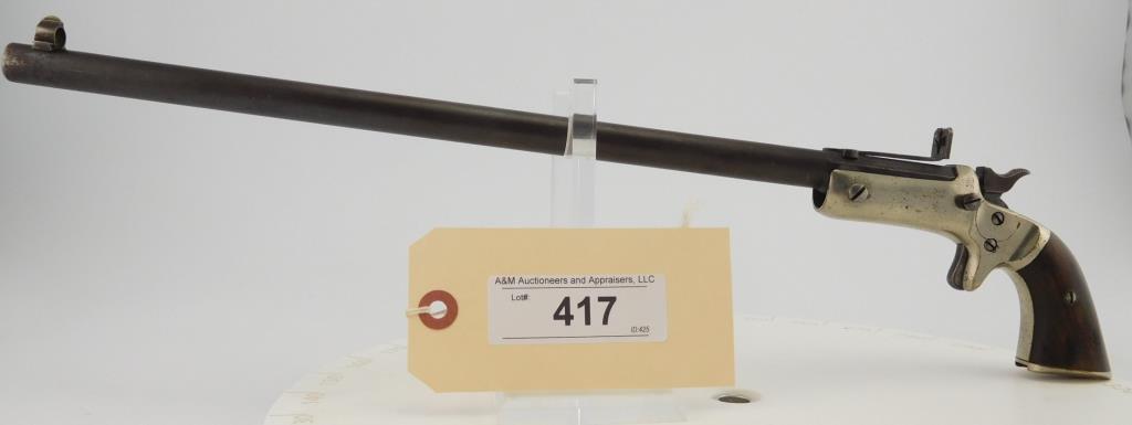 Lot #417 -Stevens New Mdl Pocket Rifle 2nd Iss