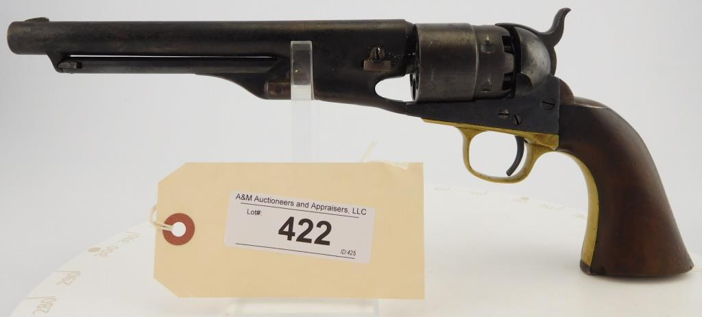 Lot #422 -Colt 1860 Army  Revolver
