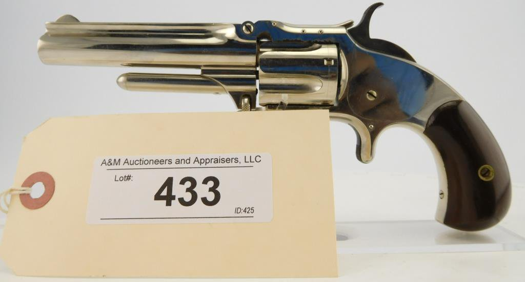 Lot #433 -S&W 1-1/2, 2nd Issue
