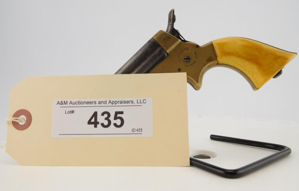 Lot #435 -Sharps 1A Pepperbox 1A Pistol