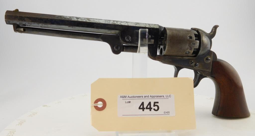 Lot #445 -Colt 1851 London Navy, 2nd  Rev