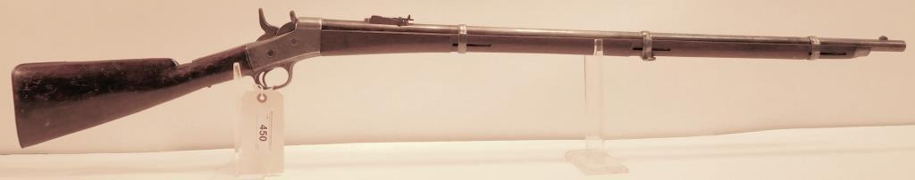 Lot #450 -Remington Rolling Block Rifle