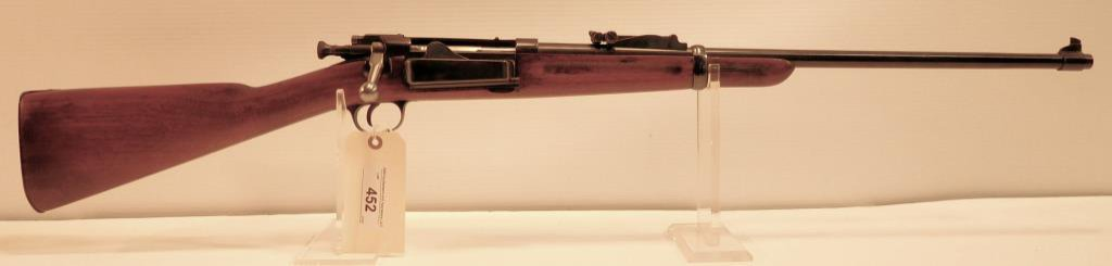 Lot #452 -US/Springfield1896 Krag Carbine