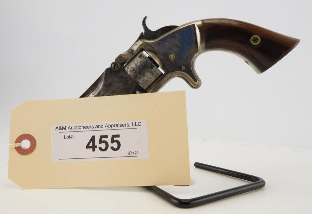 Lot #455 -S&W 1, 2nd Issue, Cal Revolver
