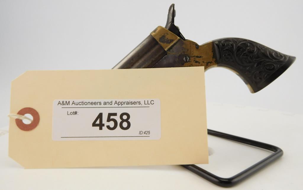 Lot #458 -Sharps4 Barrel Derringer Type A