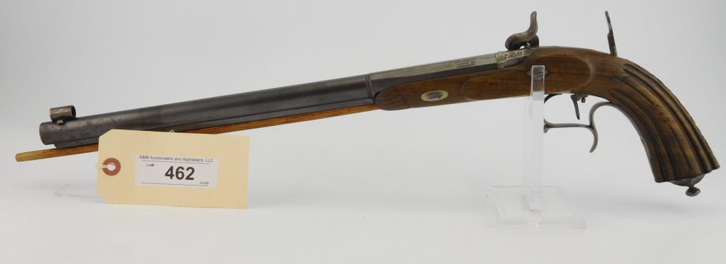 Lot #462 -Ramsdell  Perc. Target Pistol
