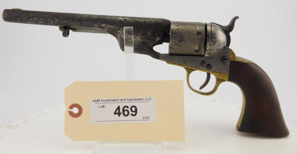 Lot #469 -Colt Navy Converted to Cartridge