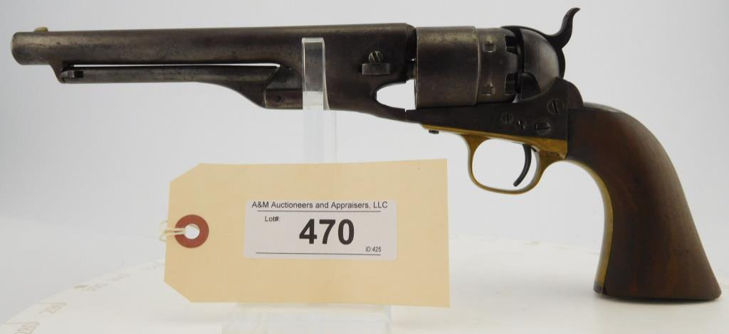 Lot #470 -Colt1860 Army  Revolver