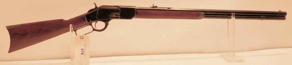 Lot #476 -Winchester 1873 3rd Mdl Std Rifle