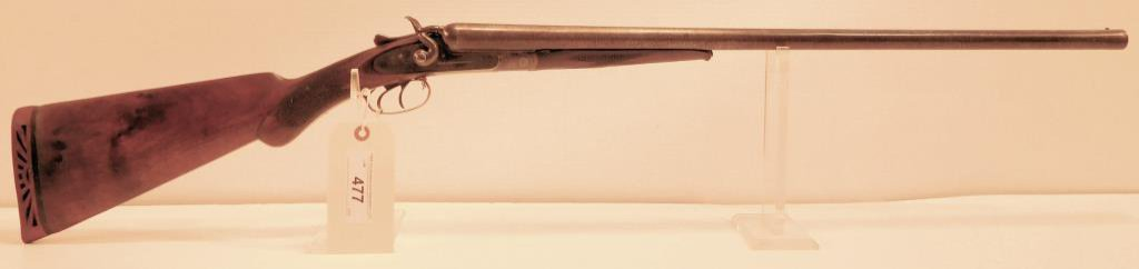 Lot #477 -Forehand & WadsworthSxS Shotgun