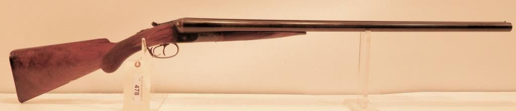 Lot #478 -Colt Mdl 1883 SxS Shotgun
